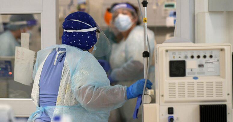 Balance COVID-19: más de mil pacientes se encuentran conectados a ventilación mecánica