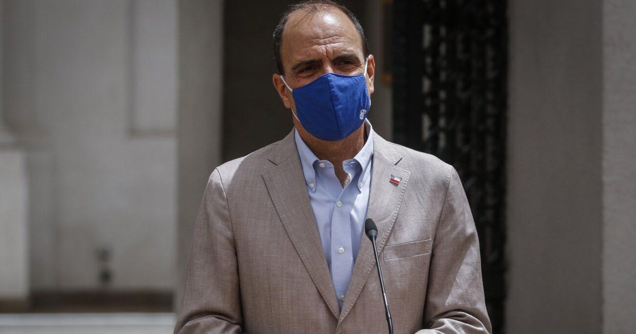 Ambos dejaron este miércoles el Gabinete de Sebastián Piñera. Foto: Agencia UNO