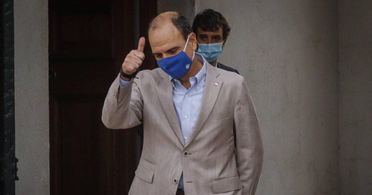Ex ministro de la Segpres, Cristián Monckeberg. Foto: Agencia Uno