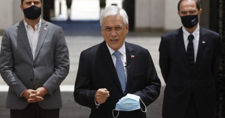 """""""Es una agenda de impunidad"""": Piñera cuestiona proyecto anti-represión del FA"""