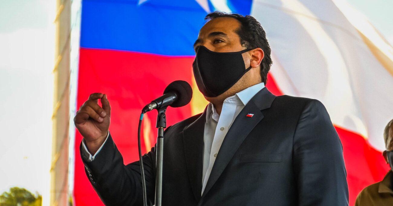Juan Francisco Galli también abordó la detención de la hija de Camilo Catrillanca en Temucuicui. Fuente: Agencia Uno.