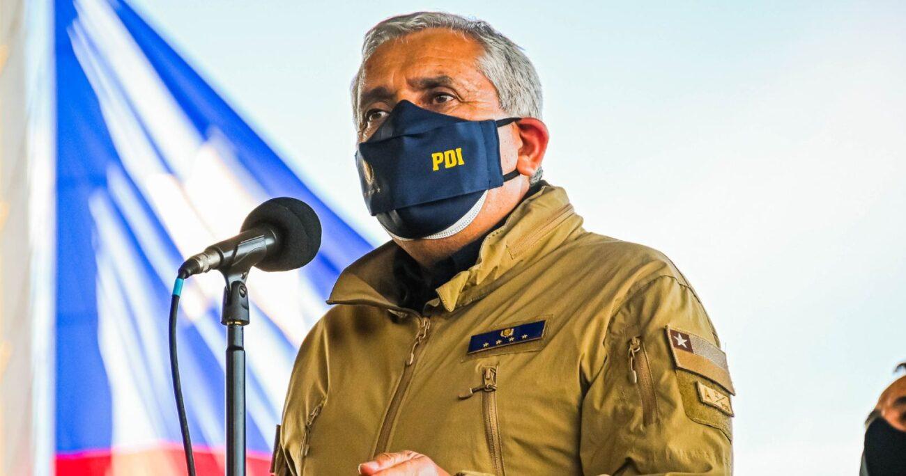 """Espinosa se quejó ante el Senado que """"a la PDI le falta apoyo político"""". Foto: Agencia UNO"""