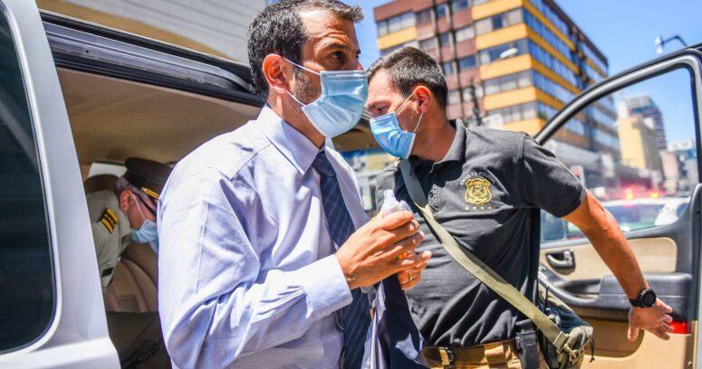 Ministro Rodrigo Delgado llegó a La Araucanía tras muerte de agricultor y PDI