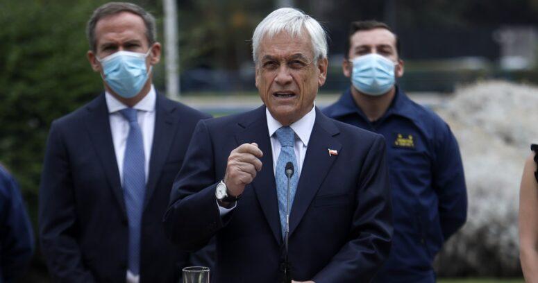 """Piñera: """"No debemos confundir la acción criminal con el pueblo mapuche"""""""