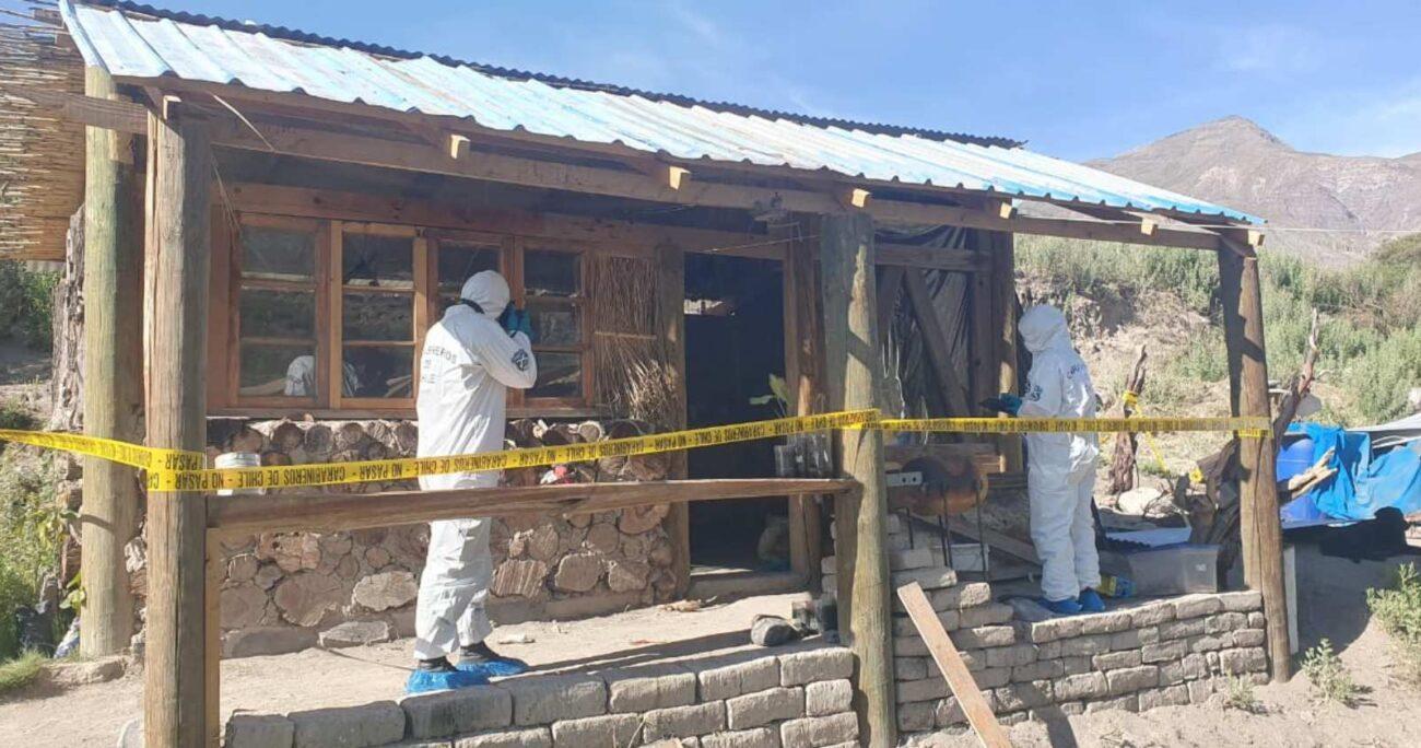 El principal sospechoso de los hechos fue capturado por vecinos. Foto: Agencia UNO