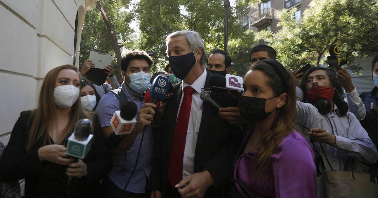 El ex diputado ya apunta a la primera vuelta presidencial. Foto: Agencia UNO