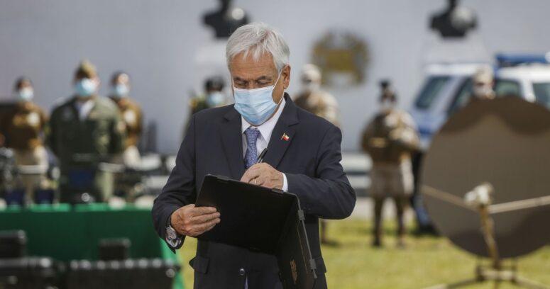 Piñera firmó decreto permite a las Fuerzas Armadas apoyar en control migratorio