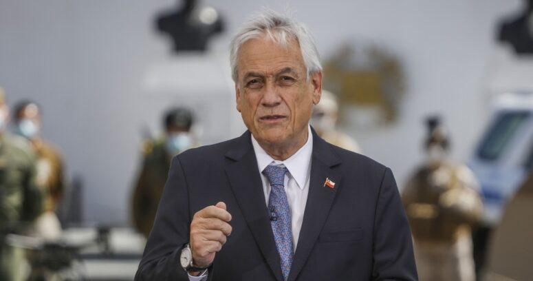 """Piñera anuncia querella criminal contra responsables de incendio en Quilpué: """"Es una maldad que no tiene perdón de Dios"""""""