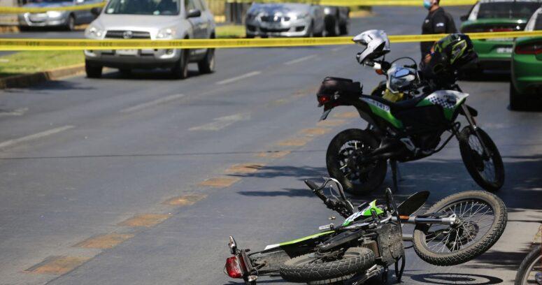 Balacera dejó dos carabineros heridos en Providencia