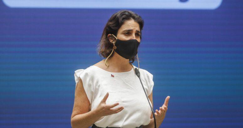 """""""María José Zaldívar descartó renunciar al Ministerio del Trabajo"""""""