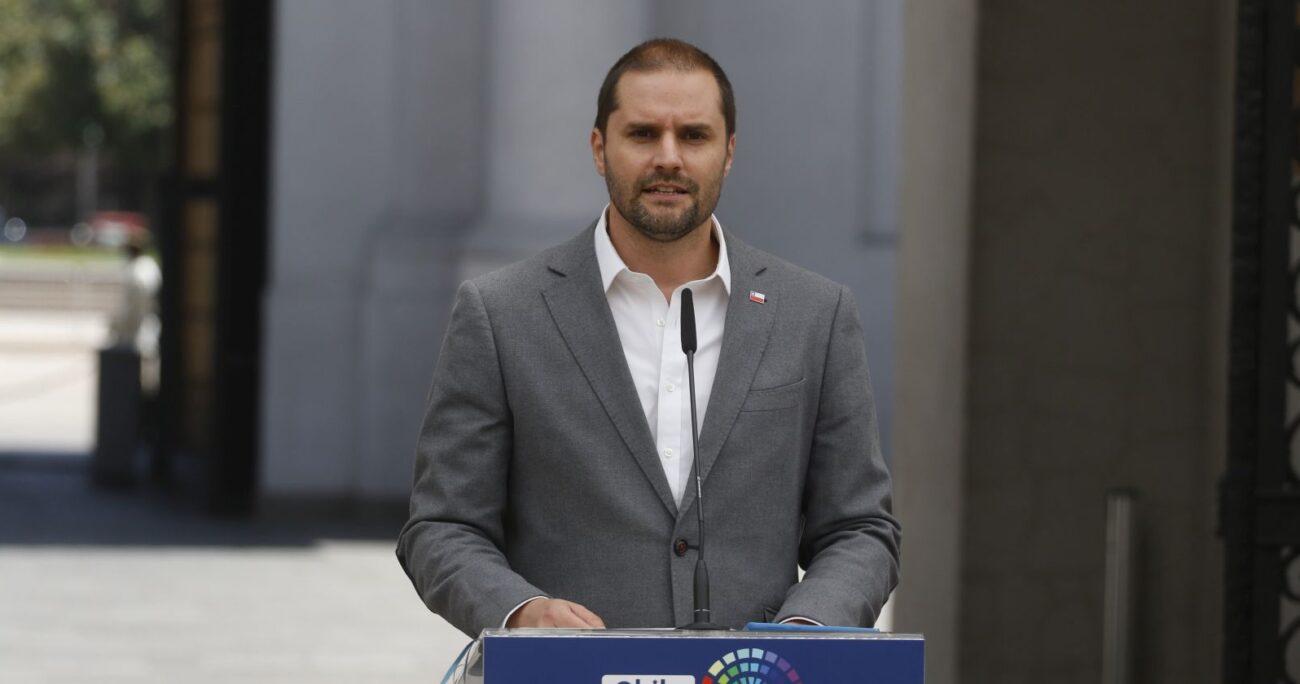 El vocero de Gobierno, Jaime Bellolio. Foto: Agencia Uno