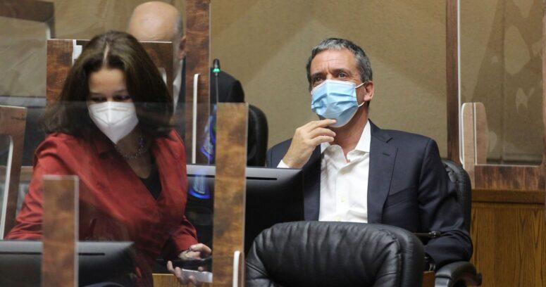"""""""Felipe Harboe se despidió del Senado para iniciar su candidatura constituyente"""""""
