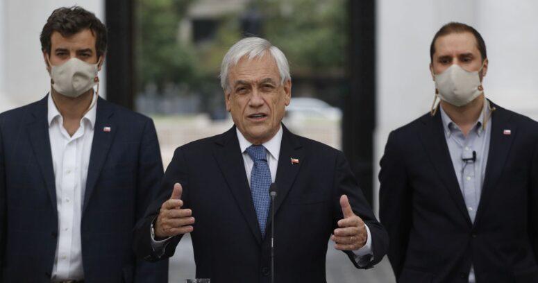 """Piñera por proyecto de tercer retiro: """"La red de protección social va a estar mientras sea necesaria"""""""