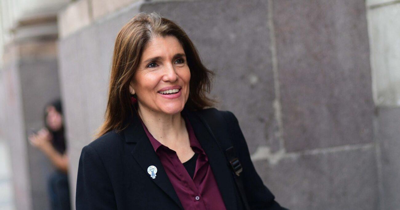 La ex ministra se transformó en la única postulante de la colectividad. Foto: Agencia Uno
