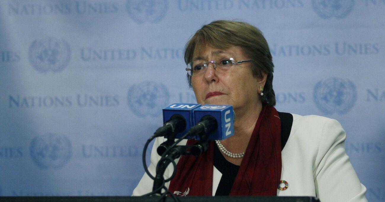 La ONU entregó un informe sobre las manifestaciones de noviembre pasado. Foto: Agencia Uno.