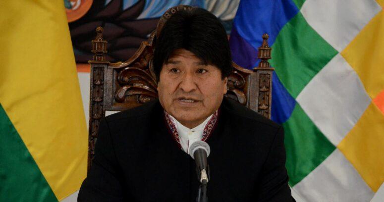 Evo Morales da positivo por COVID-19