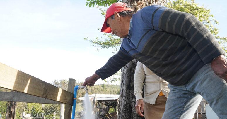 Desafío Agua para Chile ya abastece a 88 familias rurales de la Región de La Araucanía