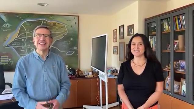 Joaquín Lavín presenta a Daniela Peñaloza, la candidata UDI a la alcaldía de Las Condes