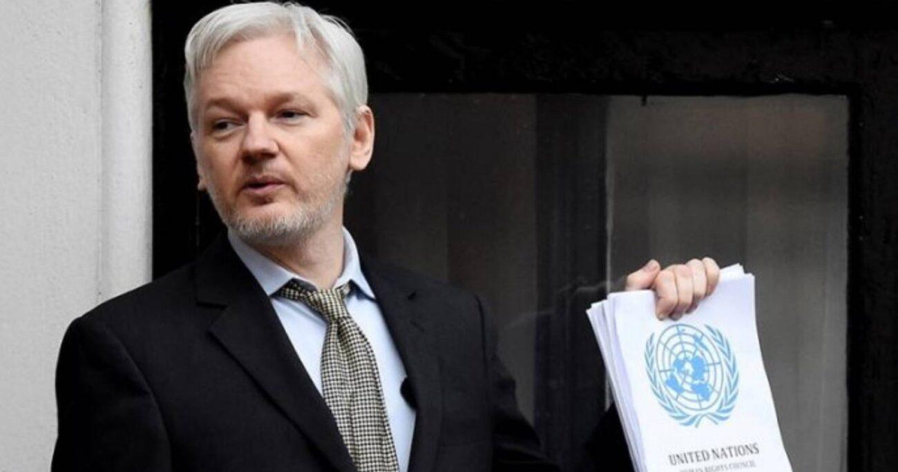 Assange podría ser condenado hasta a 175 años de cárcel.
