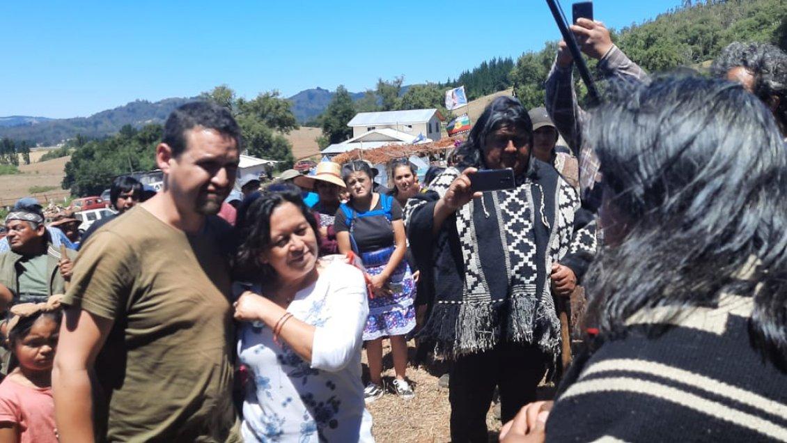 El recurso muestra que Luis no tenía contacto alguno con Ramón Morales, quien estuvo en Temucuicui.