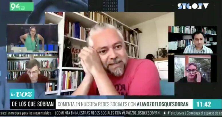 """VIDEO – Baradit: """"Jaime Guzmán debería estar en la Convención Constitucional"""""""