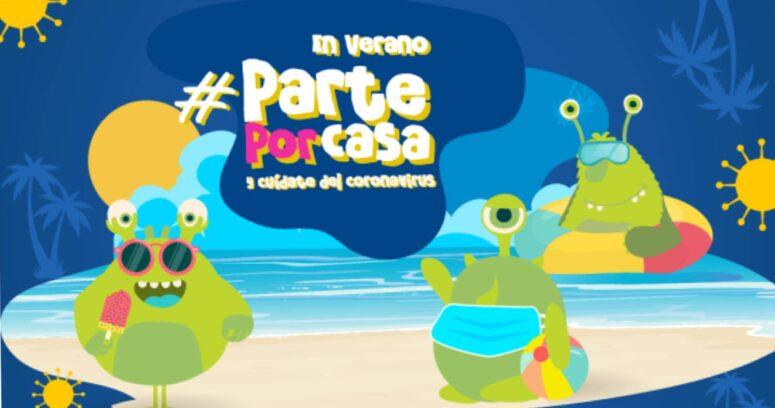 Segunda temporada de la serie educativa #parteporcasa abordará cómo cuidarse del COVID-19 durante las vacaciones