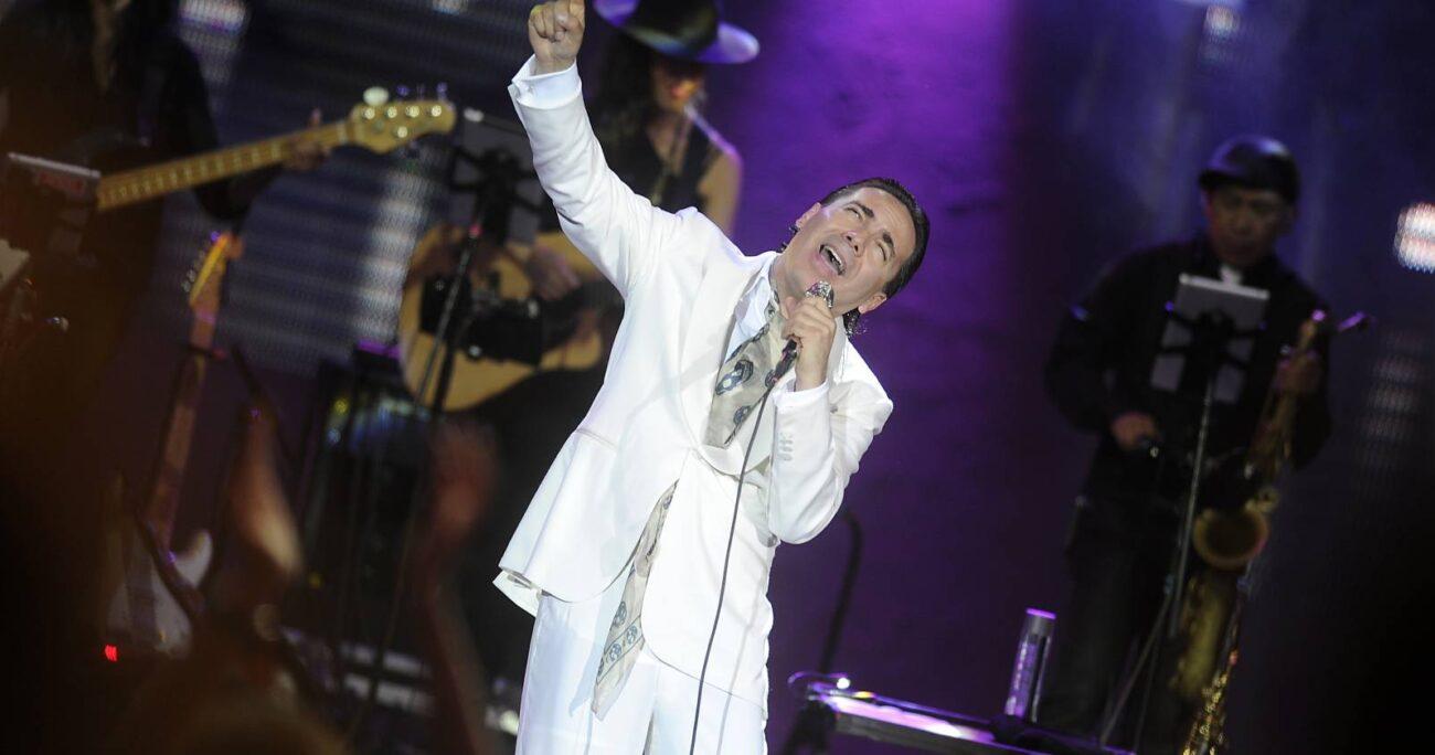 El cantante ha optado por el silencio ante las acusaciones. Foto: Agencia Uno.