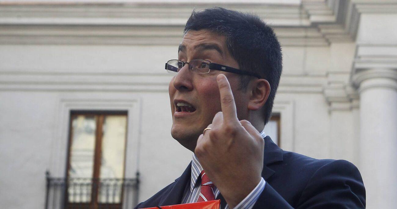 Gino Lorenzini buscaba ser constituyente por el distrito 10. Foto: Agencia Uno.