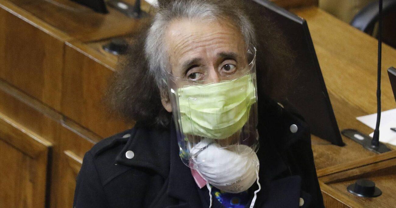 Tras las denuncias, el diputado Alarcón renunció al Partido Humanista. Foto: Agencia Uno.