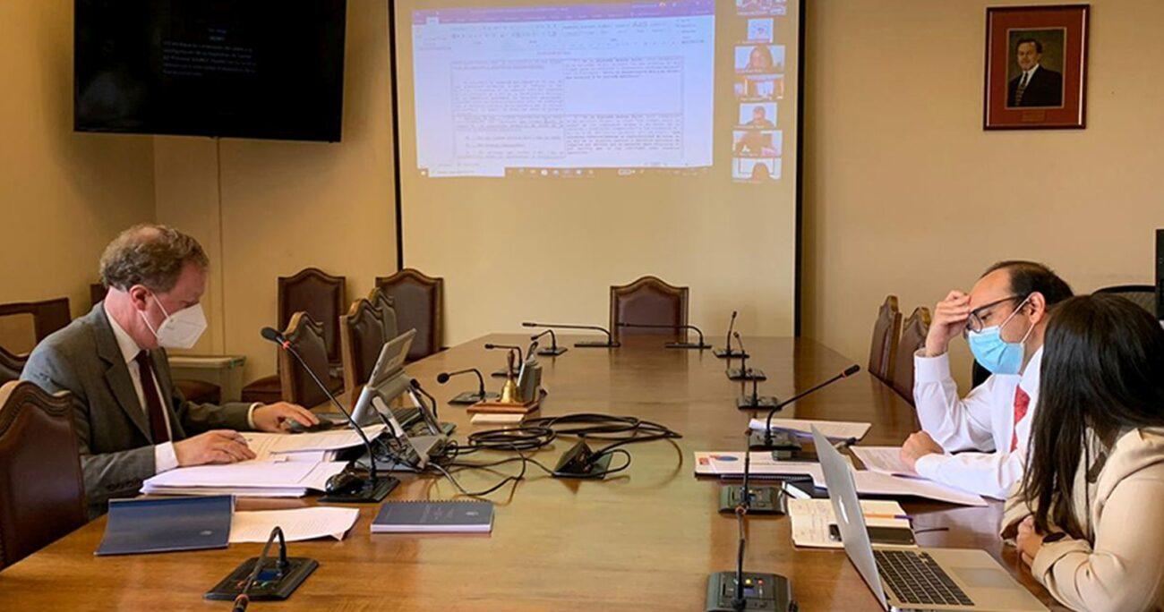 El debate en la comisión de la Cámara Baja. Foto: Cámara de Diputados