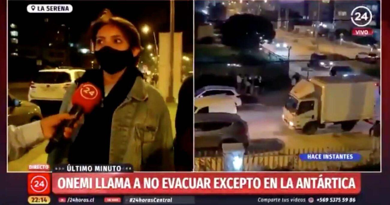 El testimonio de la joven ya ha sido ampliamente difundido en plataformas digitales. Foto: Captura de pantalla/TVN.