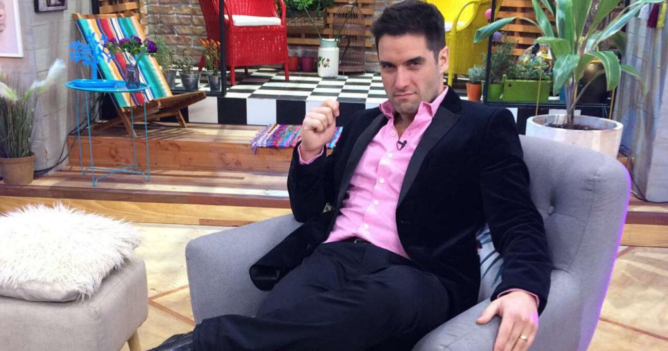 El actor estuvo animando el programa de La Red entre 2011 y 2013.