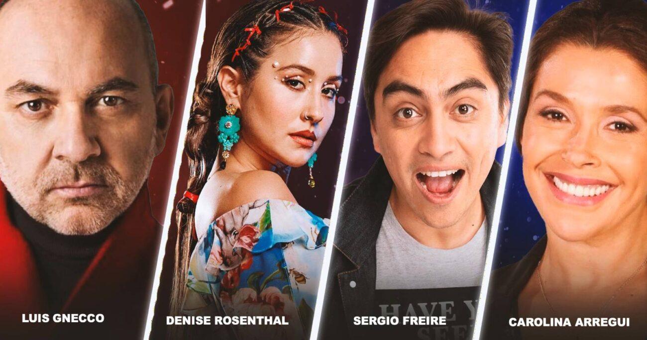 Luis Gnecco, Denise Rosenthal, Sergio Freire y Carolina Arregui será el jurado de Got Talent Chile.