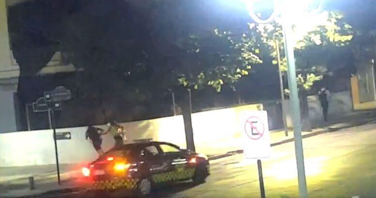 VIDEO – Asistentes a fiesta clandestina de Las Condes huyeron corriendo de los controles