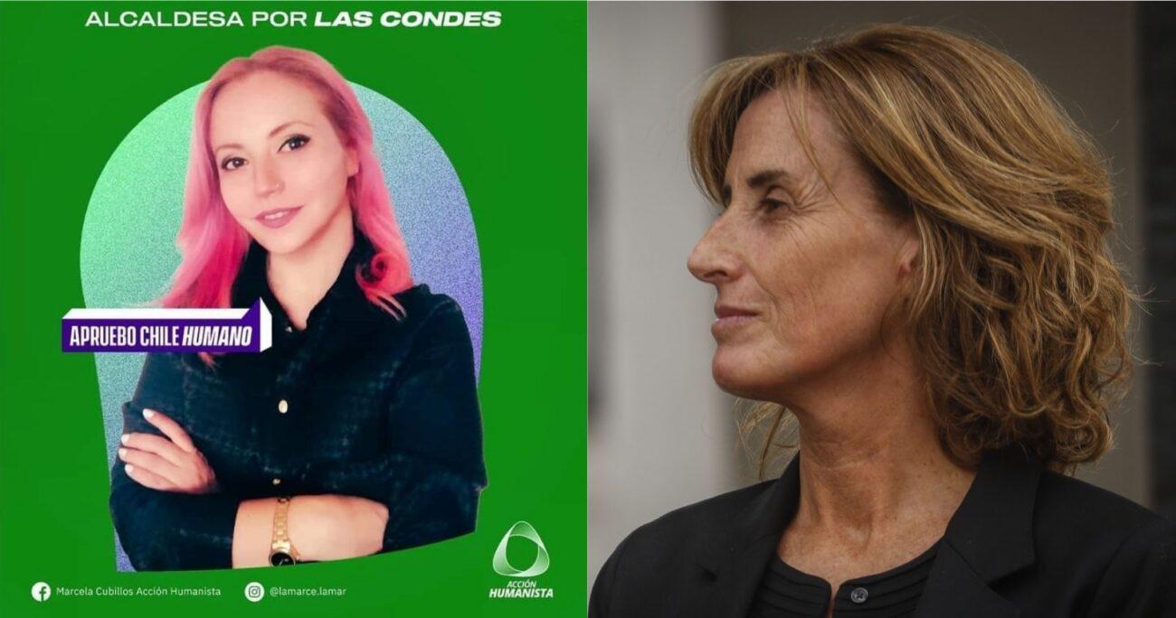 Ambas comparten el mismo nombre, generando confusión en redes sociales. Fotos: Acción Humanista y Agencia Uno.