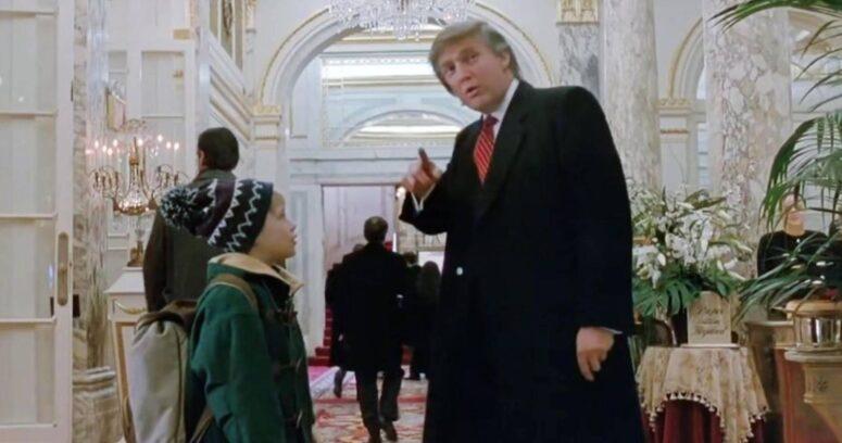 Macaulay Culkin se sumó a las peticiones para sacar a Donald Trump en Mi Pobre Angelito 2