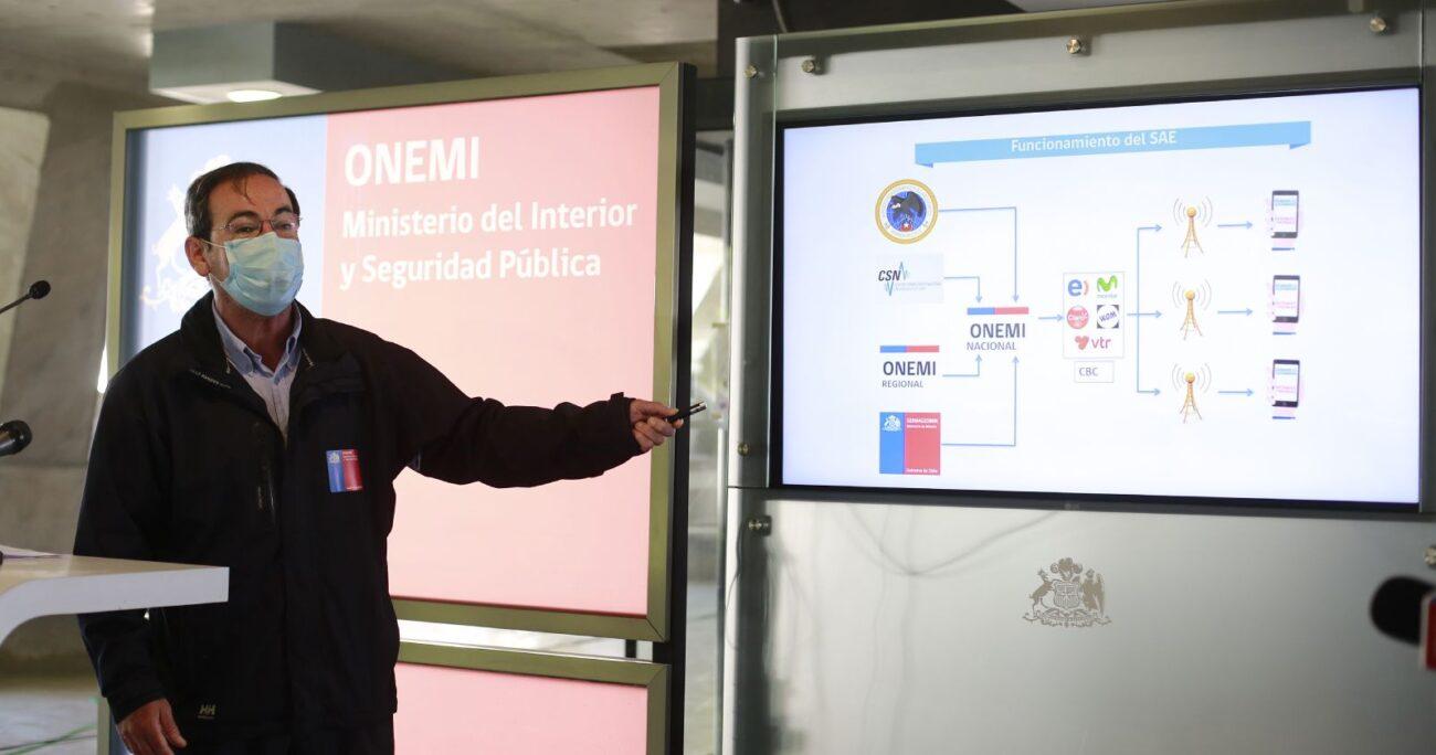 Ricardo Toro conversó con la prensa tras lo ocurrido el sábado. Foto: Agencia Uno.