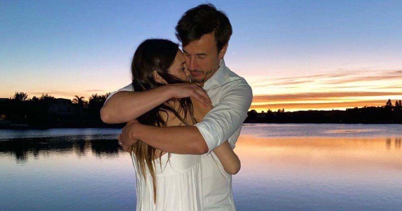 La pareja se casó en noviembre de 2019 tras solo meses de relación. Foto: Agencia Uno.