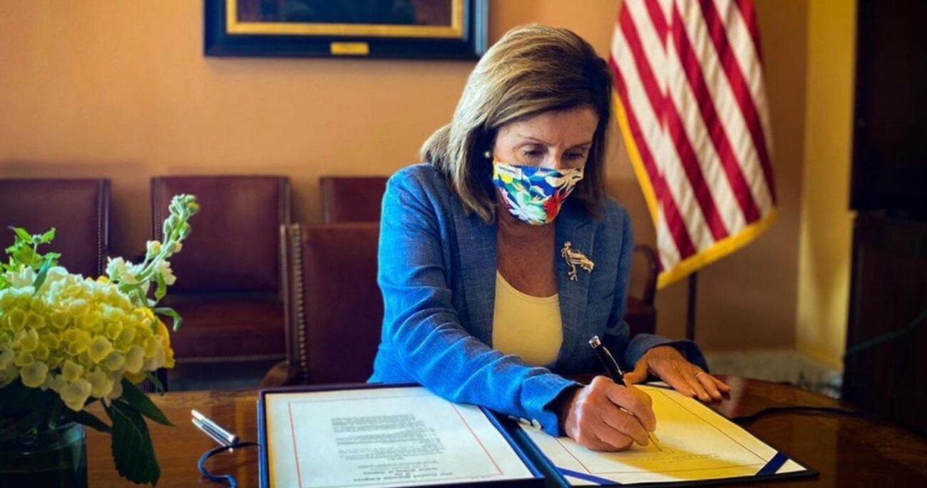Pelosi es la tercera autoridad en la línea del poder en Estados Unidos. Foto: Instagram/speakerpelosi.