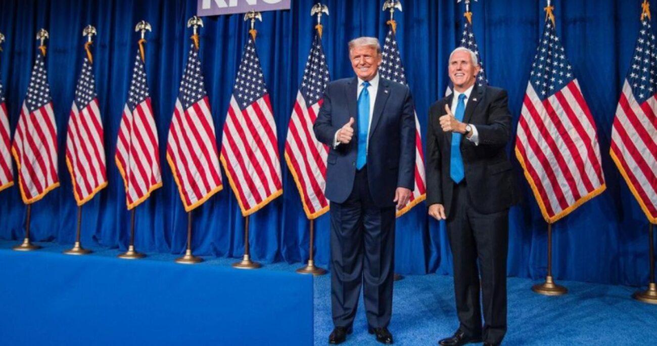 Trump había pedido al vicepresidente que interviniera en el proceso. Foto: Instagram/mikepence