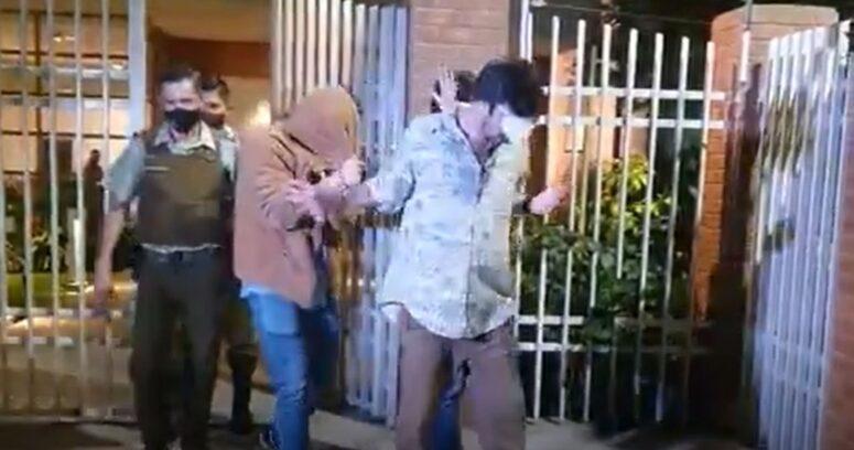 """VIDEO – """"Periodista muerto de hambre"""": la agresiva reacción de detenidos por fiesta clandestina"""