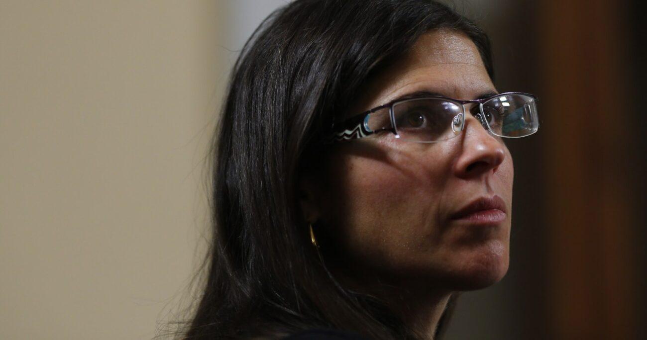 Sylvia Eyzaguirre buscaba un cupo como constituyente en el distrito 10. Foto: Agencia Uno.