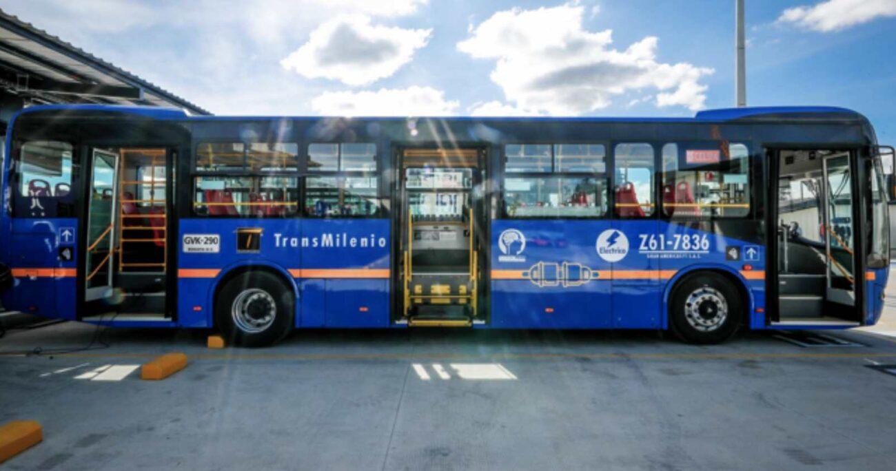 Buses eléctricos. Foto: gentileza BYD.