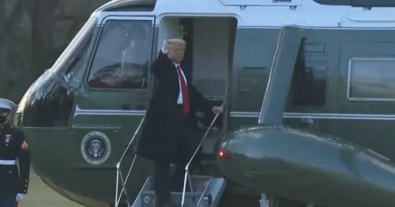 """Al ritmo de YMCA: Donald Trump dejó la Casa Blanca y aseguró que """"volveremos de alguna forma"""""""