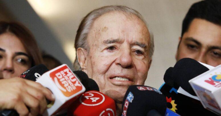 Carlos Menem es velado en el Congreso de Argentina y su funeral será esta tarde
