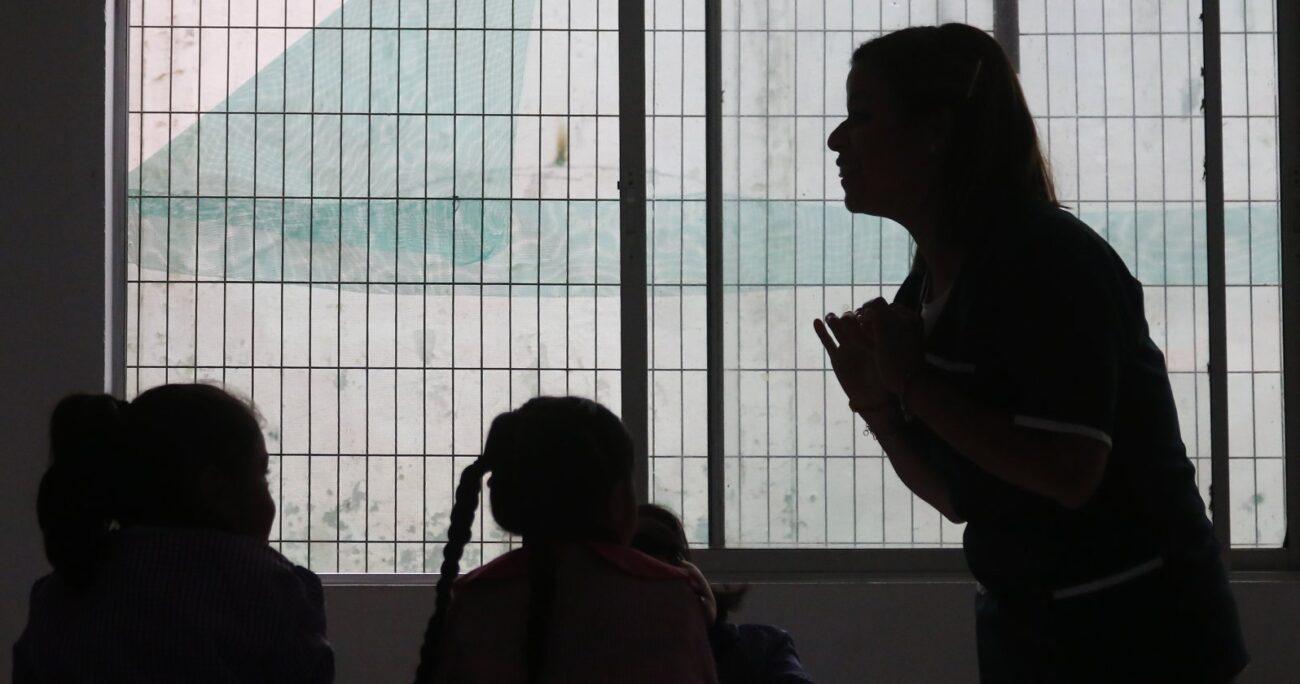 """""""No tenemos educación de calidad, ni se vislumbra, porque al malsano sistema político chileno no le interesa"""" (Agencia UNO/Archivo)"""
