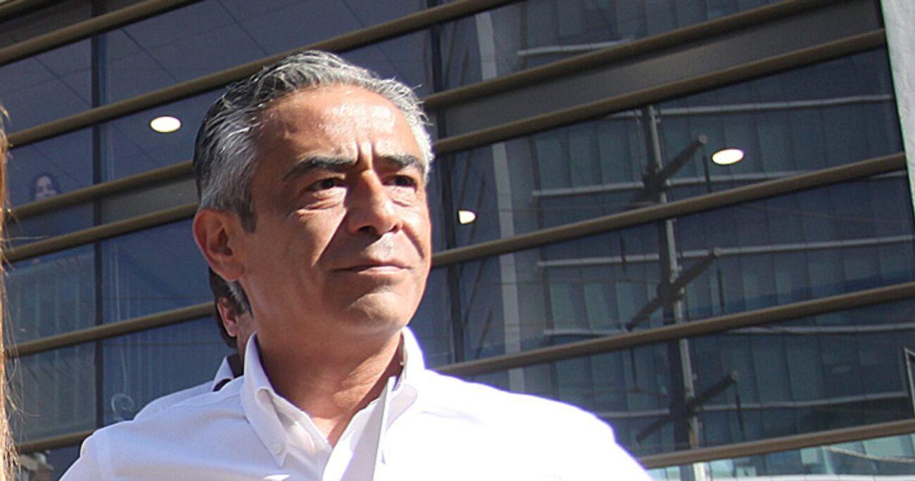 El Cuarto Juzgado de Garantía de Santiago decretó para Aguilera la medida cautelar de prohibición de acercarse a Lavín. Foto: Agencia UNO/Archivo