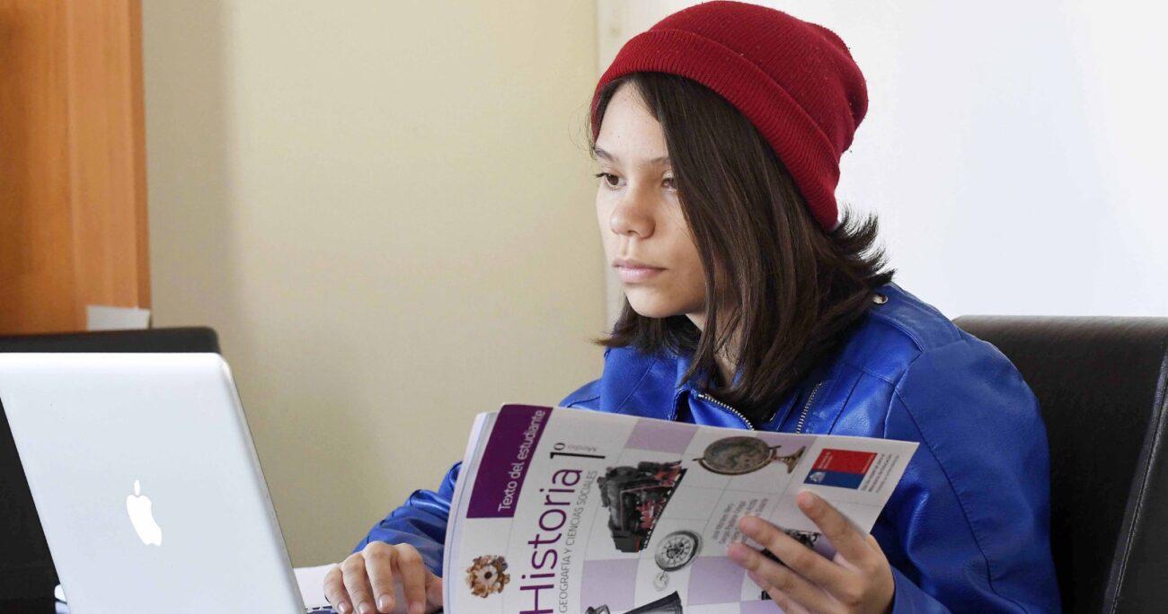 La encuesta se aplicó a 502 escolares, entre 8 y 17 años. Foto: Agencia Uno.