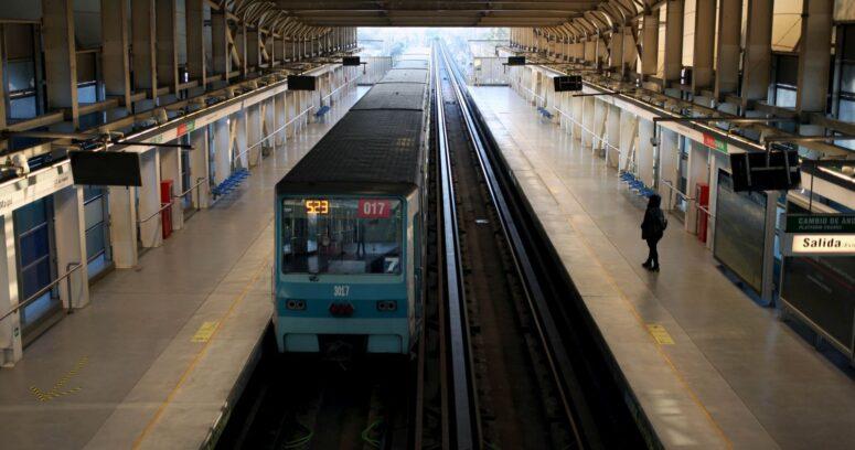 Falla en neumático de tren provocó interrupción parcial en la Línea 5 del Metro