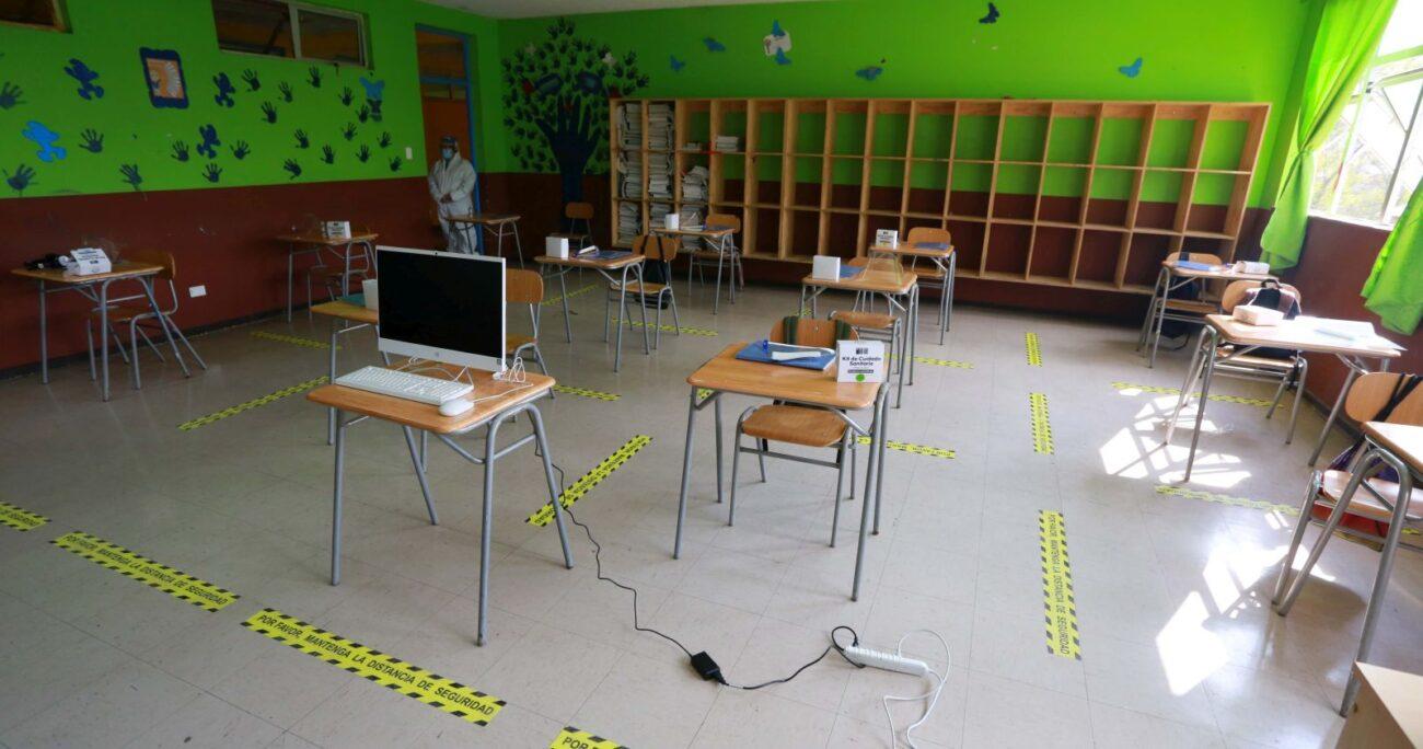 Algunos colegios lograron abrir sus puertas durante 2020. (Agencia Uno/Archivo)